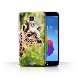 STUFF4 Case/Cover for Meizu M3 Note / Giraffe Design / Wildlife Animals Collection Mobile phones