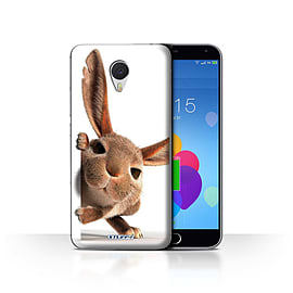 STUFF4 Case/Cover for Meizu M3 Note / Peeking Bunny Design / Funny Animals Collection Mobile phones