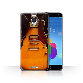 STUFF4 Case/Cover for Meizu M3 Note / Semi Acoustic Design / Guitar Collection Mobile phones