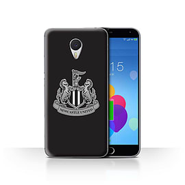 Official Newcastle United FC Case/Cover for Meizu M3 Note/Mono/Black Design/NUFC Football Crest Mobile phones
