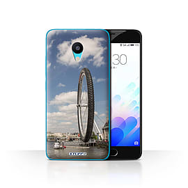 STUFF4 Case/Cover for Meizu M3 / London Eye Design / Imagine It Collection Mobile phones