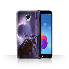 Official Chris Cold Case/Cover for Meizu M3 Note / Dragon/Eclipse Design / Dark Art Demon Collection Mobile phones