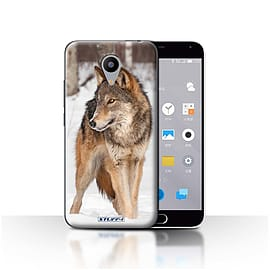 STUFF4 Case/Cover for Meizu M2 / Wolf Design / Wildlife Animals Collection Mobile phones