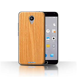 STUFF4 Case/Cover for Meizu M2 / Pine Design / Wood Grain Effect/Pattern Collection Mobile phones