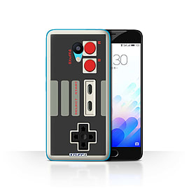 STUFF4 Case/Cover for Meizu M3 / Nintendo Classic Design / Games Console Collection Mobile phones