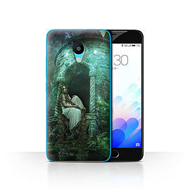 Official Elena Dudina Case/Cover for Meizu M3 / Golden Hair Design / Fairy Tale Character Collection Mobile phones