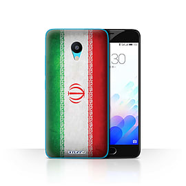 STUFF4 Case/Cover for Meizu M3 / Iran/Iranian Design / Flags Collection Mobile phones