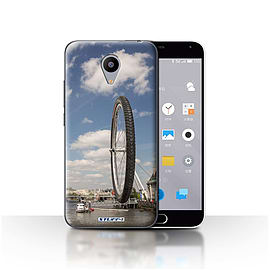 STUFF4 Case/Cover for Meizu M2 / London Eye Design / Imagine It Collection Mobile phones