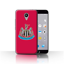 Official Newcastle United FC Case/Cover for Meizu M2/Colour/Red Design/NUFC Football Crest Mobile phones