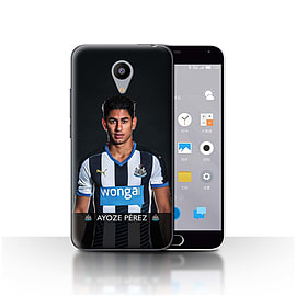 Official Newcastle United FC Case/Cover for Meizu M2/Ayoze Design/NUFC Football Player 15/16 Mobile phones