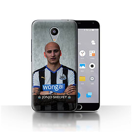 Official Newcastle United FC Case/Cover for Meizu M2/Shelvey Design/NUFC Football Player 15/16 Mobile phones