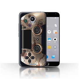 STUFF4 Case/Cover for Meizu M2 / Desert Camouflage Design / Playstation PS4 Collection Mobile phones