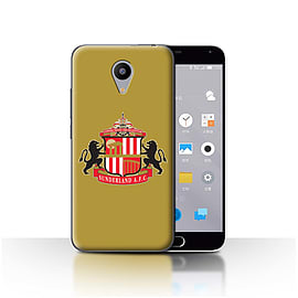 Official Sunderland AFC Case/Cover for Meizu M2 / Gold Design / SAFC Football Club Crest Collection Mobile phones