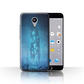Official Chris Cold Case/Cover for Meizu M2 / Remnant Design / Alien World Cosmos Collection Mobile phones