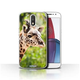 STUFF4 Case/Cover for Motorola Moto G4 Plus 2016 / Giraffe Design / Wildlife Animals Collection Mobile phones