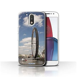 STUFF4 Case/Cover for Motorola Moto G4 Plus 2016 / London Eye Design / Imagine It Collection Mobile phones