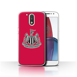 Newcastle United FC Case/Cover for Motorola Moto G4 Plus 2016/Mono/Red Design/NUFC Football Crest Mobile phones