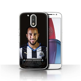 Official NUFC Case/Cover for Motorola Moto G4 Plus 2016/Townsend Design/NUFC Football Player 15/16 Mobile phones