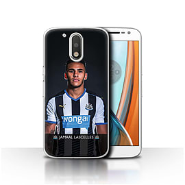 Newcastle United FC Case/Cover for Motorola Moto G4 2016/Lascelles Design/NUFC Football Player 15/16 Mobile phones