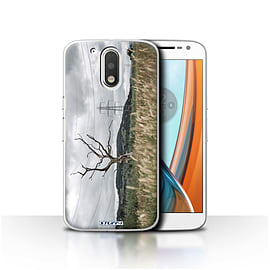 STUFF4 Case/Cover for Motorola Moto G4 2016 / Electric Tree Design / Imagine It Collection Mobile phones