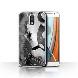 STUFF4 Case/Cover for Motorola Moto G4 2016 / Fancy a Cuppa Design / Imagine It Collection Mobile phones