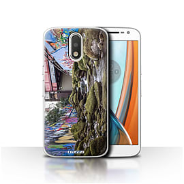 STUFF4 Case/Cover for Motorola Moto G4 2016 / Illegal Streaming Design / Imagine It Collection Mobile phones