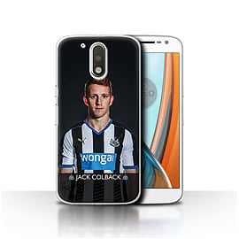 Newcastle United FC Case/Cover for Motorola Moto G4 2016/Colback Design/NUFC Football Player 15/16 Mobile phones