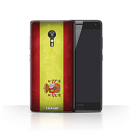 STUFF4 Case/Cover for Lenovo ZUK Z2 Pro / Spain/Spanish Design / Flags Collection Mobile phones