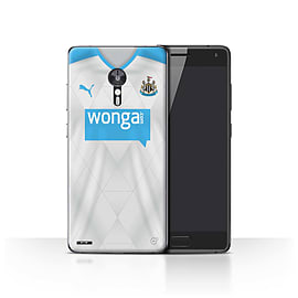 Newcastle United FC Case/Cover for Lenovo ZUK Z2 Pro/Footballer Design/NUFC Away Shirt/Kit 15/16 Mobile phones