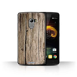 STUFF4 Case/Cover for Lenovo Vibe K4 Note / Driftwood Design / Wood Grain Effect/Pattern Collection Mobile phones