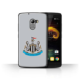 Newcastle United FC Case/Cover for Lenovo Vibe K4 Note/Colour/Grey Design/NUFC Football Crest Mobile phones