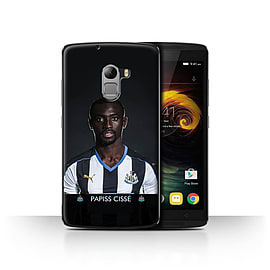 Newcastle United FC Case/Cover for Lenovo Vibe K4 Note/Ciss? Design/NUFC Football Player 15/16 Mobile phones