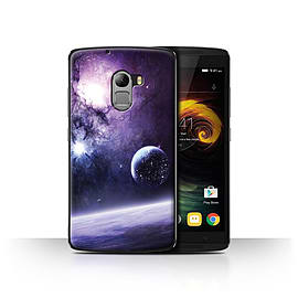 Official Chris Cold Case/Cover for Lenovo Vibe K4 Note/Planet/Moon Design/Alien World Cosmos Mobile phones