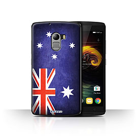 STUFF4 Case/Cover for Lenovo Vibe K4 Note / Australia/Australian Design / Flags Collection Mobile phones