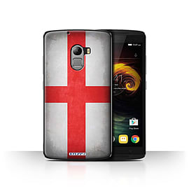 STUFF4 Case/Cover for Lenovo Vibe K4 Note / England/English Design / Flags Collection Mobile phones