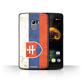 STUFF4 Case/Cover for Lenovo Vibe K4 Note / Slovakia/Slovakian Design / Flags Collection Mobile phones