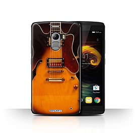 STUFF4 Case/Cover for Lenovo Vibe K4 Note / Semi Acoustic Design / Guitar Collection Mobile phones