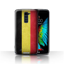 STUFF4 Case/Cover for LG K8/K350N/Phoenix 2 / Belgium Design / Flags Collection Mobile phones