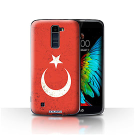 STUFF4 Case/Cover for LG K8/K350N/Phoenix 2 / Turkey/Turkish Design / Flags Collection Mobile phones