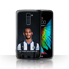 Newcastle United FC Case/Cover for LG K8/K350N/Phoenix 2/Gouffran Design/NUFC Football Player 15/16 Mobile phones