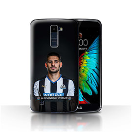 Newcastle United FC Case/Cover for LG K8/K350N/Phoenix 2/Mitrovic Design/NUFC Football Player 15/16 Mobile phones