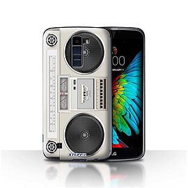 STUFF4 Case/Cover for LG K7 /X210 / Boombox Design / Retro Tech Collection Mobile phones