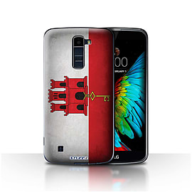 STUFF4 Case/Cover for LG K7 /X210 / Gibraltar/Gibraltarian Design / Flags Collection Mobile phones