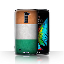 STUFF4 Case/Cover for LG K7 /X210 / Ireland/Irish Design / Flags Collection Mobile phones