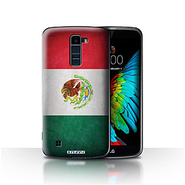 STUFF4 Case/Cover for LG K7 /X210 / Mexico/Mexican Design / Flags Collection Mobile phones