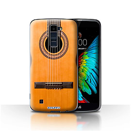 STUFF4 Case/Cover for LG K7 /X210 / Wood/Wooden Acoustic Design / Guitar Collection Mobile phones