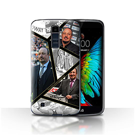 Official Newcastle United FC Case/Cover for LG K7 /X210/Montage Design/NUFC Rafa Ben?tez Mobile phones