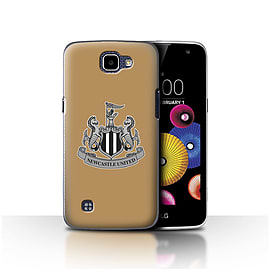 Newcastle United FC Case/Cover for LG K4/K120/K121/K130/Mono/Gold Design/NUFC Football Crest Mobile phones