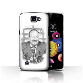 Official Newcastle United FC Case/Cover for LG K4/K120/K121/K130/Sketch Design/NUFC Rafa Ben?tez Mobile phones