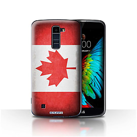STUFF4 Case/Cover for LG K7 /X210 / Canada/Canadian Design / Flags Collection Mobile phones